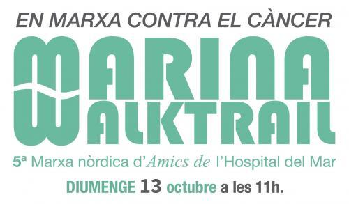 Participa al Marina Walktrail i col·labora en la lluita contra el càncer