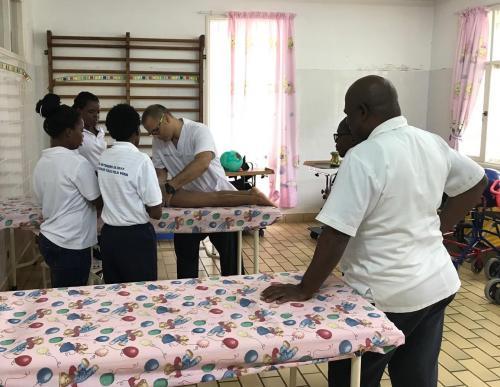 El CFC colabora con la Fundación Benito Menni ayudando a formar fisioterapeutas en Mozambique