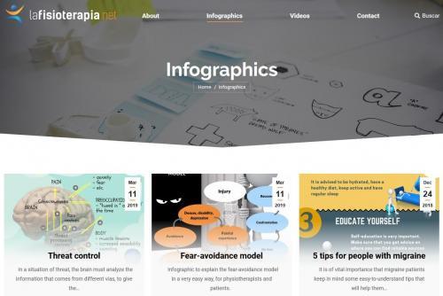 El CFC firma un convenio con lafisioterapia.net para difundir infografías de las más recientes investigaciones en Fisioterapia