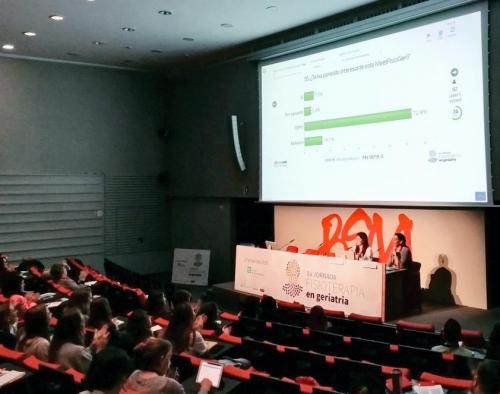 Èxit de la 8a Jornada de Fisioteràpia en Geriatria del CFC, que incloïa una activitat participativa de resolució de casos clínics