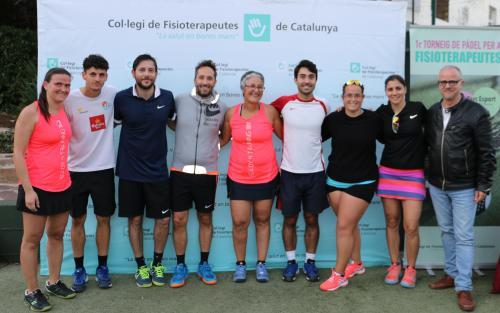 Celebrat el 1r torneig de pàdel del CFC amb un gran èxit de participació