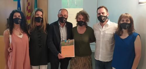 El Grup de Treball de Marxa Nòrdica del CFC presenta la Guia de Marxa Nòrdica