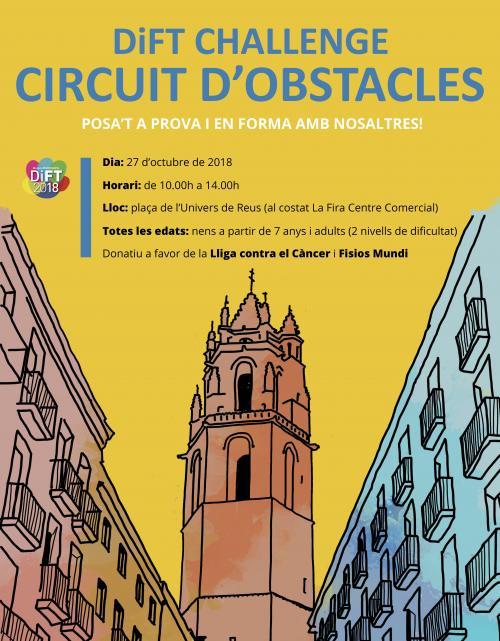 """El CFC celebra el Dia de la Fisioteràpia amb el """"DiFT Challenge"""", un circuit d'obstacles solidari, a Reus"""
