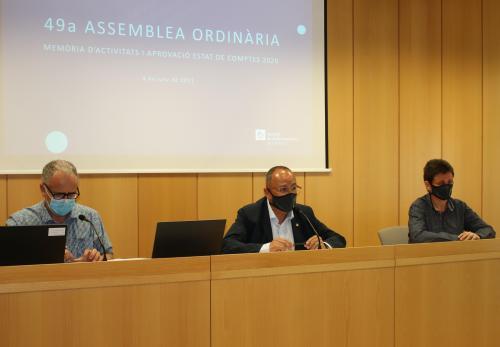 L'assemblea aprova per unanimitat els comptes del 2020 i decideix repartir a parts iguals el destí del resultat entre totes les propostes presentades a l'enquesta