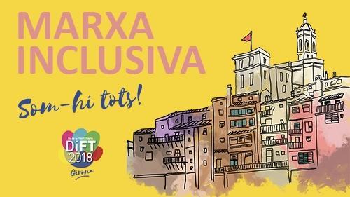 Marxa inclusiva per al DiFT de Girona