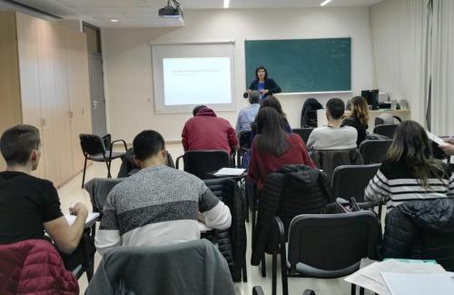 Bona rebuda del curs d'emprenedoria en Fisioteràpia, a Tortosa